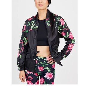 Juicy Couture Lightweight Floral Active Jacket Sm
